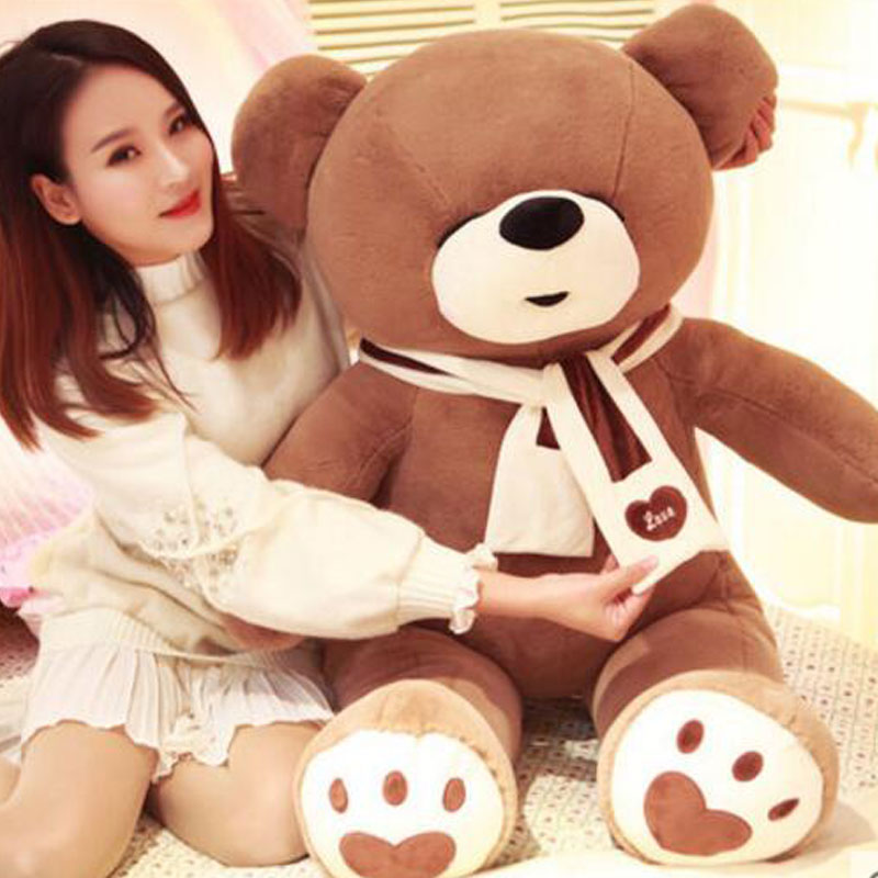 160cm/180CM Oversize 62/70 Teddy Panda Cute Super Hug Teddy Bear Soft Bear Stuffed Animal Plush Doll Toys For Children Gift 40cm super cute plush toy panda doll pets panda panda pillow feather cotton as a gift to the children and friends