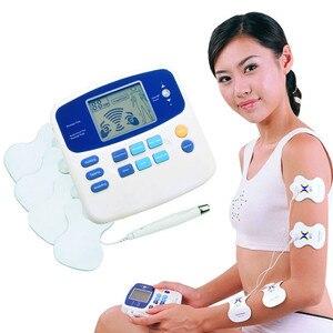 Image 1 - Dual Tens Machine Digital Lage Frequentie Therapeutische Elektrische Spierstimulator Tientallen Stimulator Met Lcd scherm Acupunctuur Pen