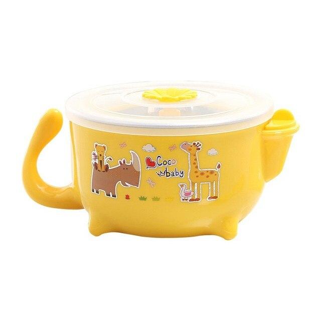 Yellow Heated water dish 5c64f53815252
