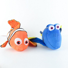 Best Gifts To Kids Finding Nemo Plush Kawaii Finding Dory Plush Toys 20cm Cartoon Clown Fish Stuffed Animal Doll Kids Baby Toys