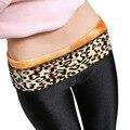 Winter women soft warm thicken leggings high waist stretch slim bodycon leggings femme black ankle-length leggings trousers