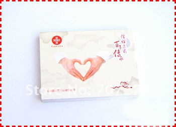 SN-8013 sticky notepad, school/office/promotional use/wholesale  2 in 1, 500ps/lot with your copany logo printing to advertising