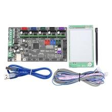 цены Mks Gen V1.4 Motherboard Mks Tft35 Press Screen Color Display Mks Tft 3D Printer Control Unit Diy Starter Kits