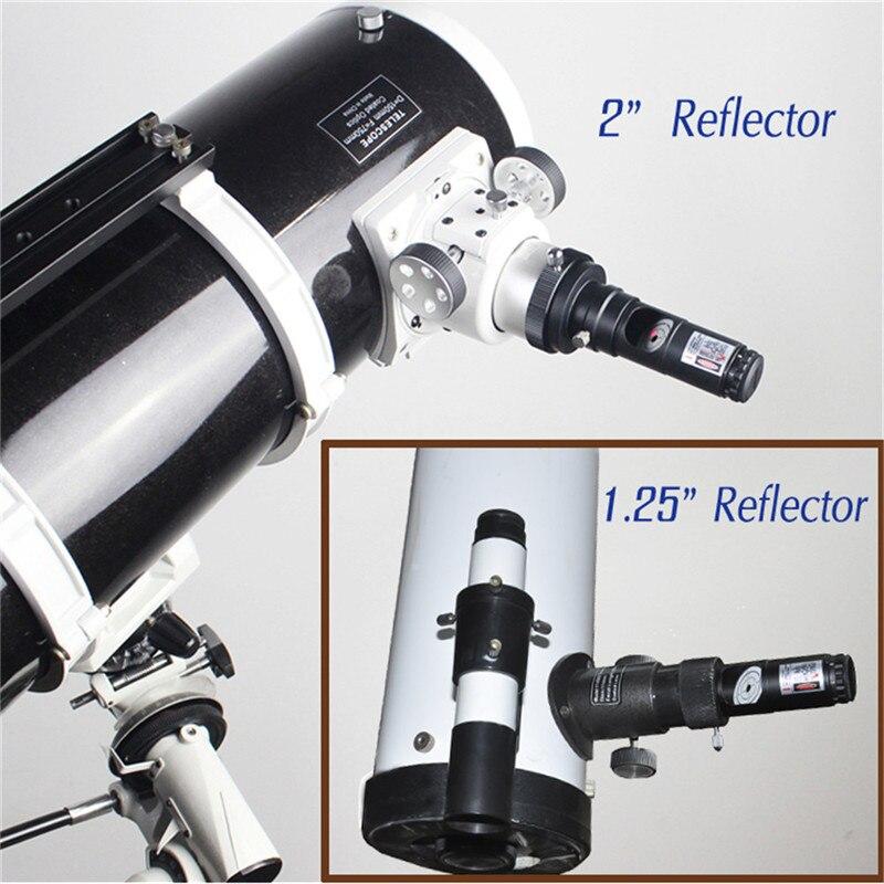 alinhamento 2 polegada laser colimador ocular adaptador 01