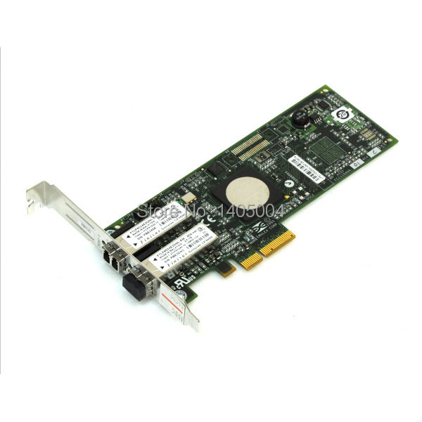 ФОТО LPe11002 EMULEX LightPulse PCIe Fibre Channel 4Gb/s Dual-Channel Host Bus Adpater,New retail packing,Original,3 year warranty