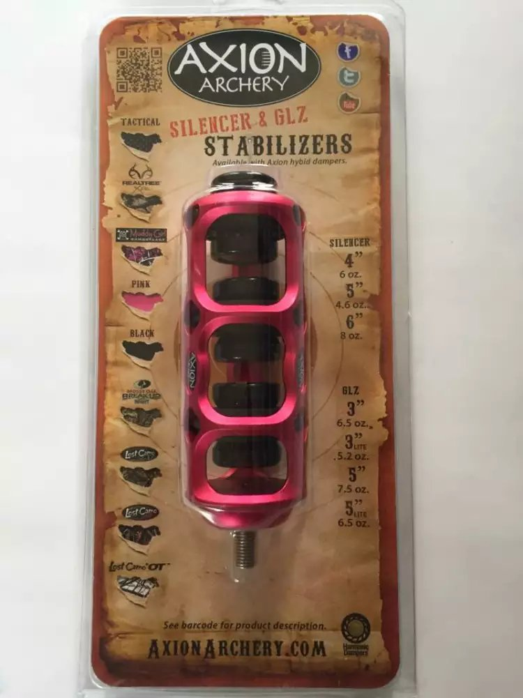 Free shipping Axion SSG Silencer Stabilizer - 4 6oz Red for