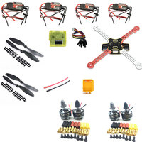 F330 330 Quadcopter MultiCopte Frame Kit cc3d and 2208 Motor Hobbywing Skywalker 20A Simonk ESC FS i6 remote control