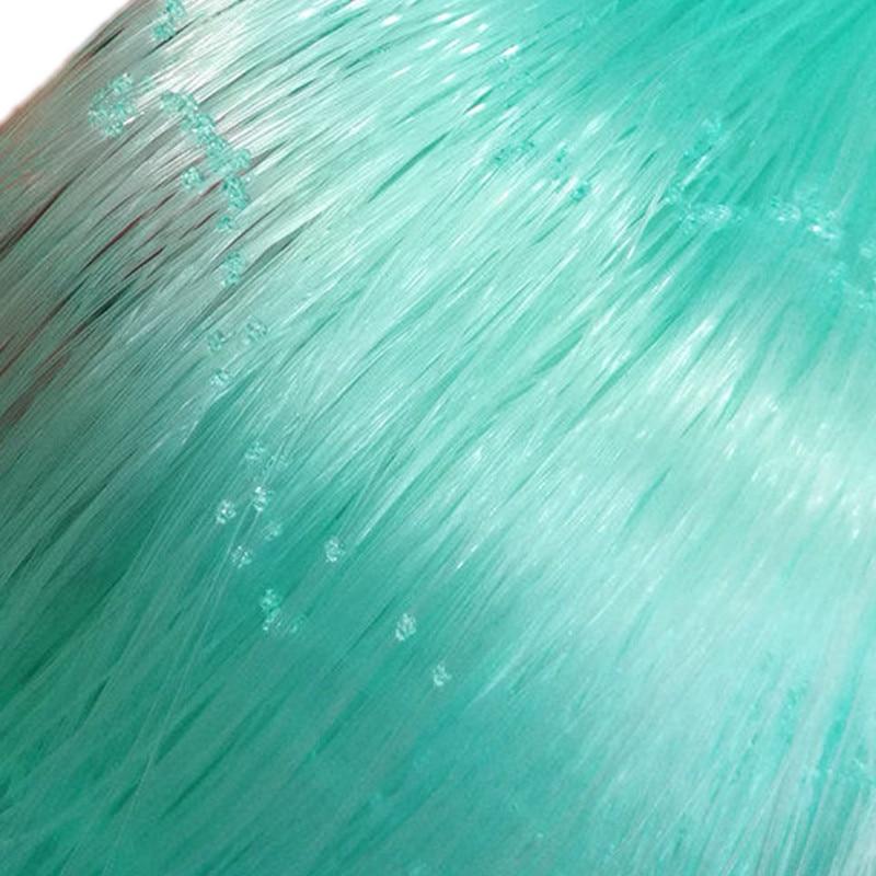 Filets de pêche semi-finis épais verts de qualité 0.2mm-0.3mm filets collants monofilament filet de nylon filet de pêche