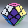 Lanlan Dodecahedron Skewb Magic Cube Black Intelligence Twisty Puzzle Toy for Children Professional cubo magico Collection