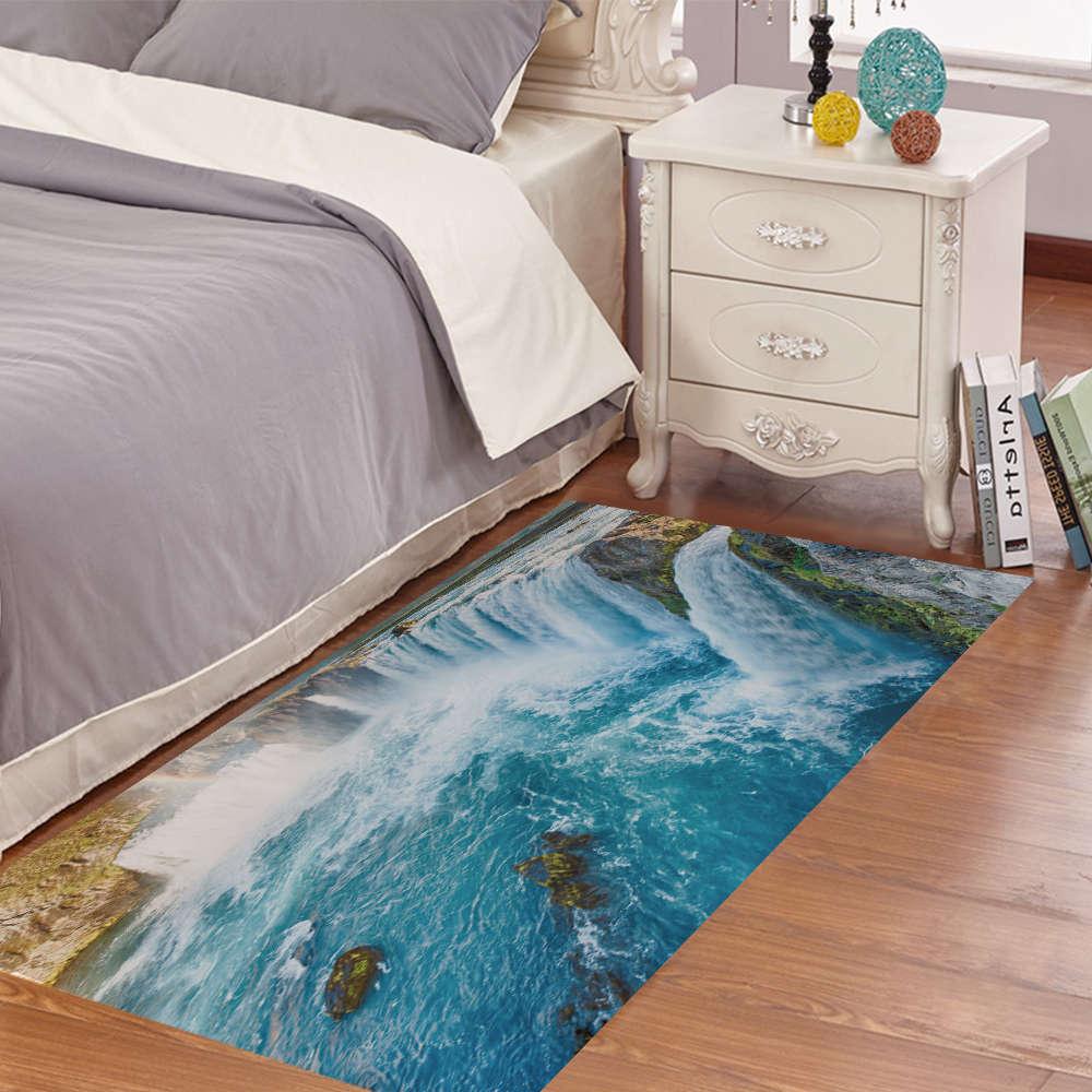 Accessoire Chambre D Enfant creative 3d autocollants de sol antidérapant motif cascade