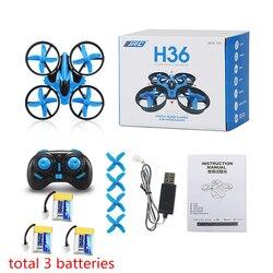 JJRC H36 Mini Drone RC Drone quadricoptère Mode sans tête une clé retour RC hélicoptère VS JJRC H8 Mini H20 Dron meilleurs jouets pour les enfants