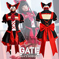 GATE Rory Mercury Fancy Dress Short Sleeve Tops Skirt Uniform Outfit Anime Cosplay Costumes
