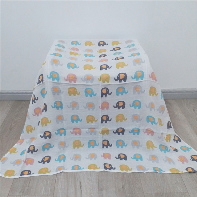 Organic Cotton Blanket Suitable For Baby Swaddling For All (0-3 years) Nursery Shop by Age Swaddle Blankets