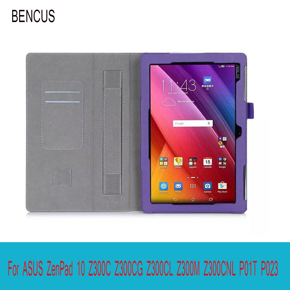 BENCUS Premium PU Leather Case All-Powerful Protective Stand Cover Case for ASUS Zenpad 10 Z300C Z300M 10.1 inch Tablet
