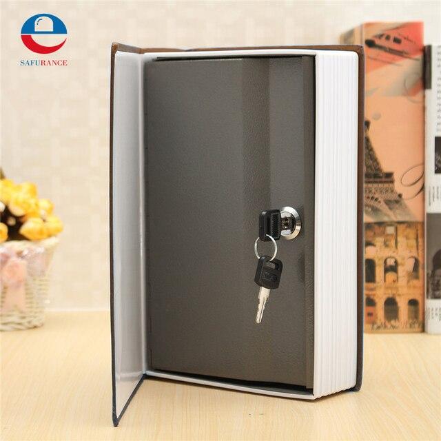 Durable Quality Dictionary Book Security Safes Money Cash Jewellery Secret Hidden Box + 2 Keys 240*155*55mm