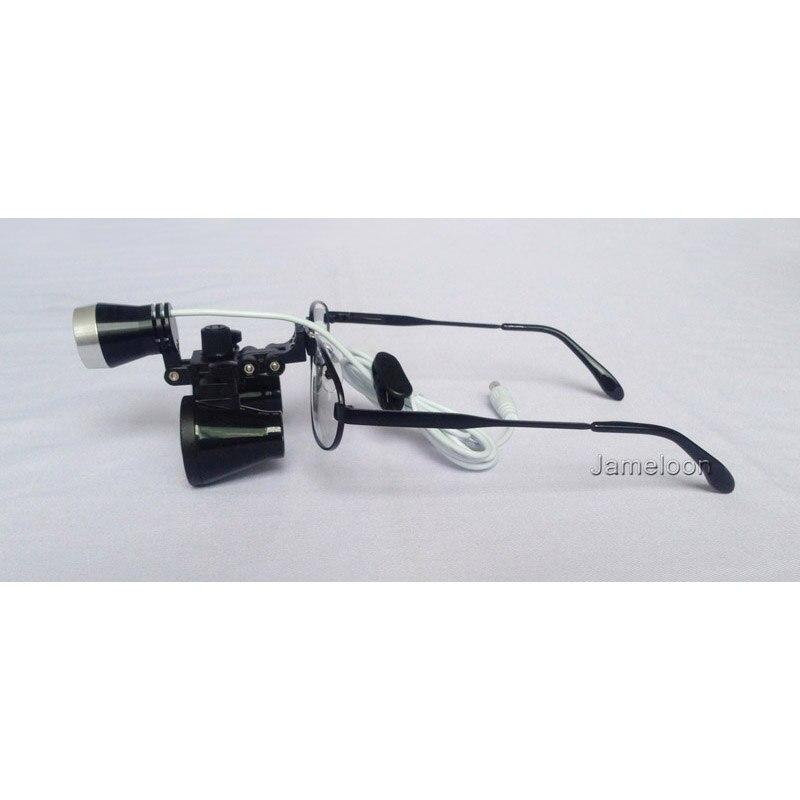 3.5 nagyítás cserélhető rövidlátó szemüveg fémkeret fogorvos - Mérőműszerek - Fénykép 5
