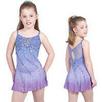 skating dress for girls competition figure skating dress custom hot sale ice figure skating dress free shipping kids ice dress