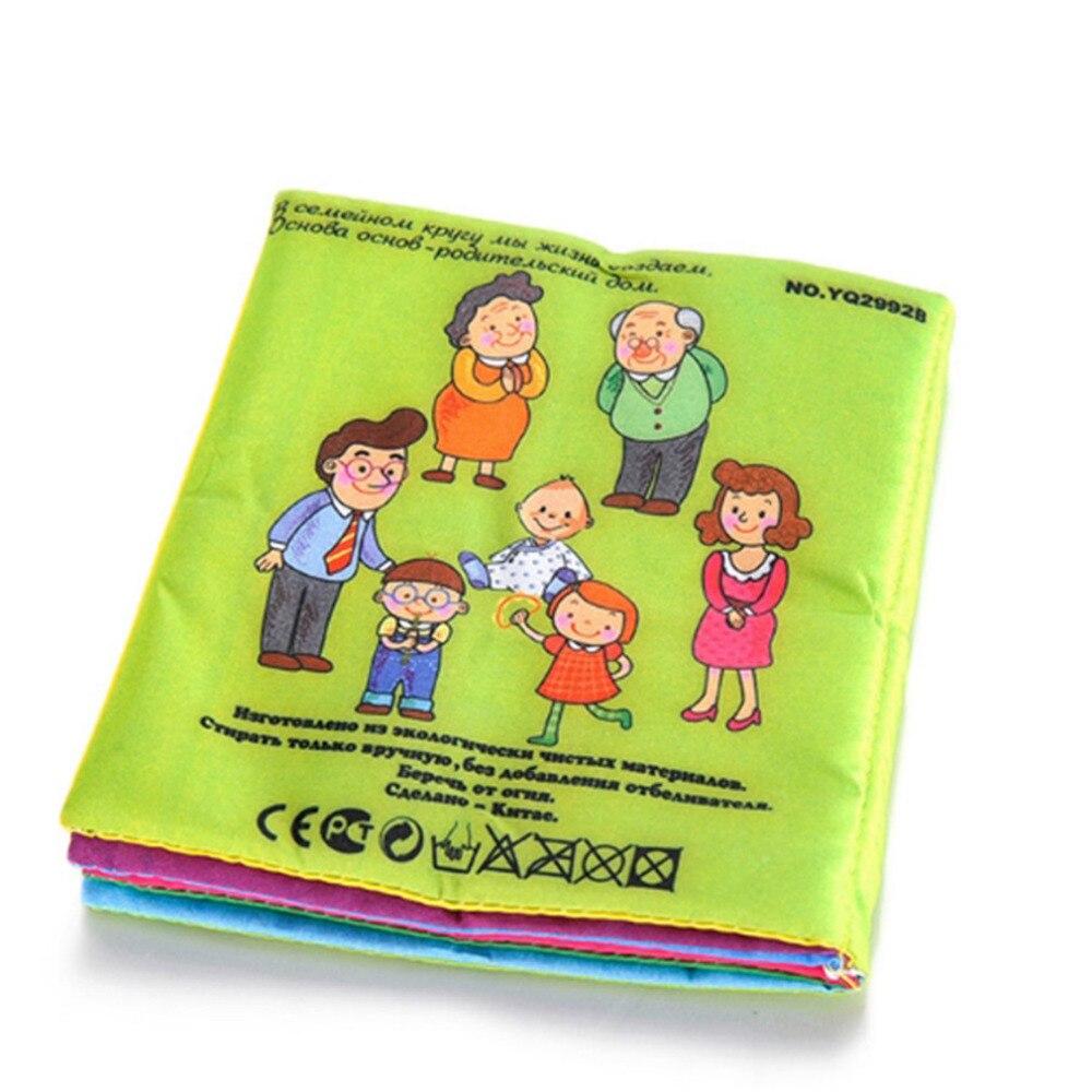 0 ~ 12 Monate Baby Spielzeug Baby Bücher Tuch Russische Sprache Rassel Spielzeug Neugeborenen Krippe Tuch Infant Bildung Kinder Spielzeug SorgfäLtige FäRbeprozesse