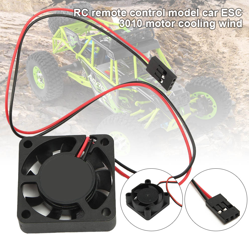 3010 <font><b>Motor</b></font> Cooling <font><b>Fan</b></font> <font><b>5V</b></font> RC Cars Accessories for RC Model Car BM88 image