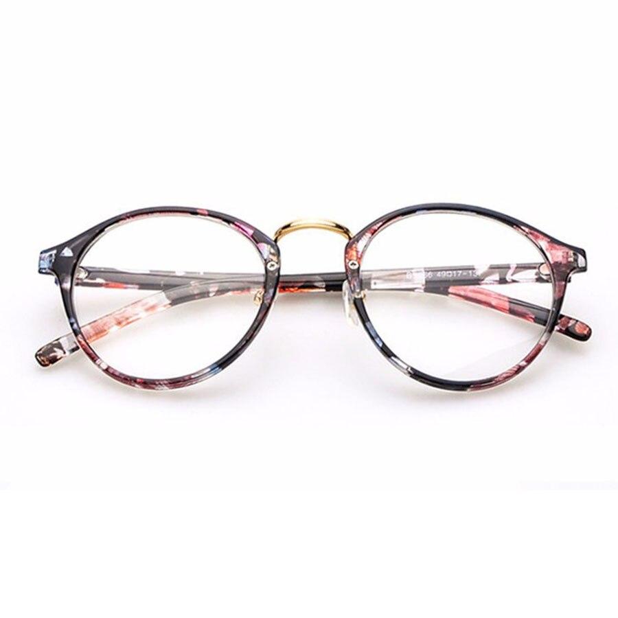 Eyeglasses frames in style - Cute Style Vintage Glasses Women Glasses Frame Round Eyeglasses Frame Optical Frame Glasses Oculos Femininos Gafas