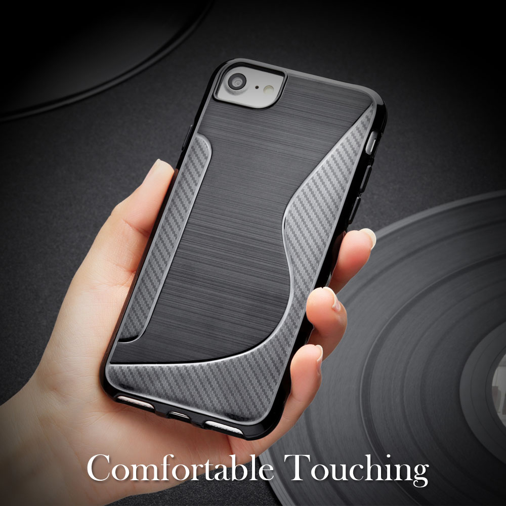 S Line TPU Case For Huawei Honor 9 Lite Case Honor 7A 7C Pro P9 Mini 10 V10 Y5 Y6 Y7 Prime 2018 Play 7X P Smart Y9 2019 Cases in Fitted Cases from Cellphones Telecommunications