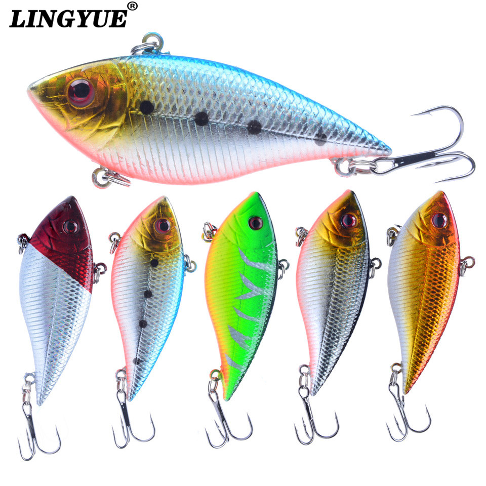 1PCS Fishing Lure Lipless Trap 7CM 11G Crankbait Hard Bait Fresh Water Deep Water Bass Walleye Crappie Minnow Fishing Tackle 6pieces fresh water lure set hard bait minnow fishing lure 14cm 16 2g