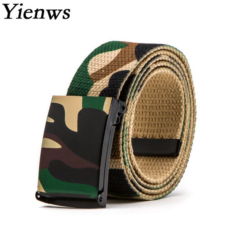Yienws Cocuk Kemer Camouflage Leinwand Gürtel Für Jungen Kinder Casual Taktische Gürtel Kinder Taille Gürtel Teen Cinto Ceinture Yib22