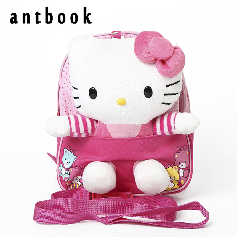 New 2017 hello kitty children's school bags /child backpack / children school cartoon kids bag mochila infantil Freeship instock delune new european children school bag for girls boys backpack cartoon mochila infantil large capacity orthopedic schoolbag