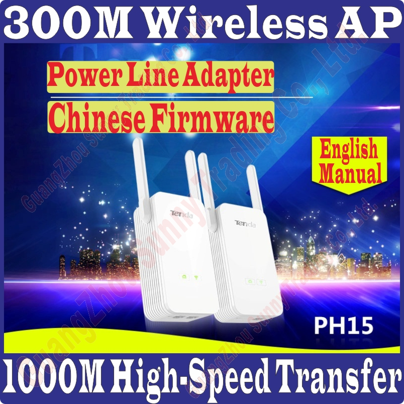 Pa3 Tenda Ph15 1000 Mbps Giabit Wireless Power Line Adapter Extender Wifi Hotspot 300 Mbps Ethernet-netzwerkadapter Intelligent Pw3 Prom10 Aromatischer Charakter Und Angenehmer Geschmack