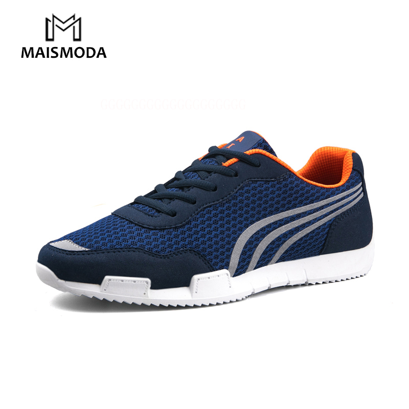 MAISMODA Autumn Mens Fashion Casual Shoes Trend Male Air Mesh Breathable Men For Adult Comfortable Black White Navy YL197