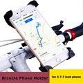 Hight quality Universal para Bicicleta Motocicleta Electromobile Soporte para Teléfono Móvil para iphone 6 6 s plus para samsung s4 s6 s7 borde