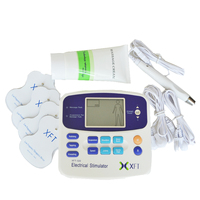 2Pcs Lot Electrical Muscle Stimulator Massager Digital Therapy Massage Device XFT 320 Dual Tens Unit Full