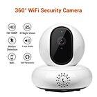 WiFi 2MP IP Camera Wireless IP Camera Wifi 1080P Indoor Panoramic 360 degree PTZ rotation Webcam Home Intercom