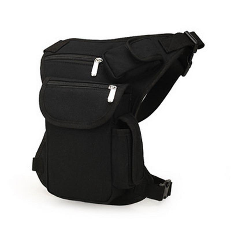Wenyujh 2019 New Men Waist Pack Leg Bag Waterproof Waistpack Fanny Drop Belt Hip Bum Military Travel Pouch Waist Belt Bag Canvas