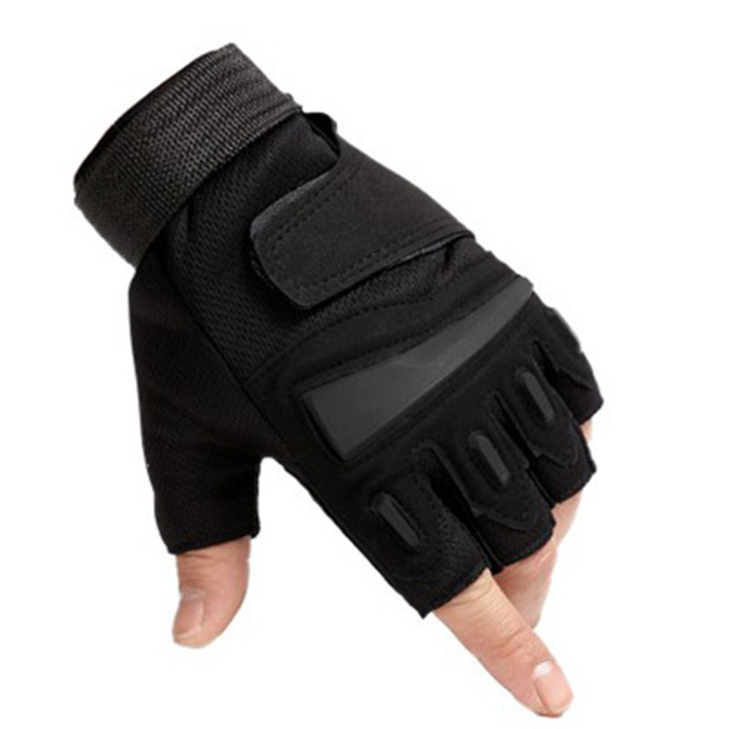 Outdoor Tactical Fingerless Gloves Military Army Shooting Hiking Climbing Cycling Riding Airsoft Half Finger Gloves Rekawiczki
