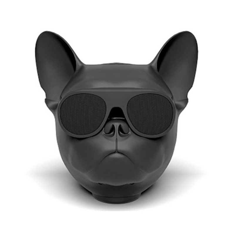 Aerobull Portable Wireless Bluetooth Bulldog Speakers Dog Speaker Mini Boombox for iphone xiaomi Mobile Phone Computer Gift