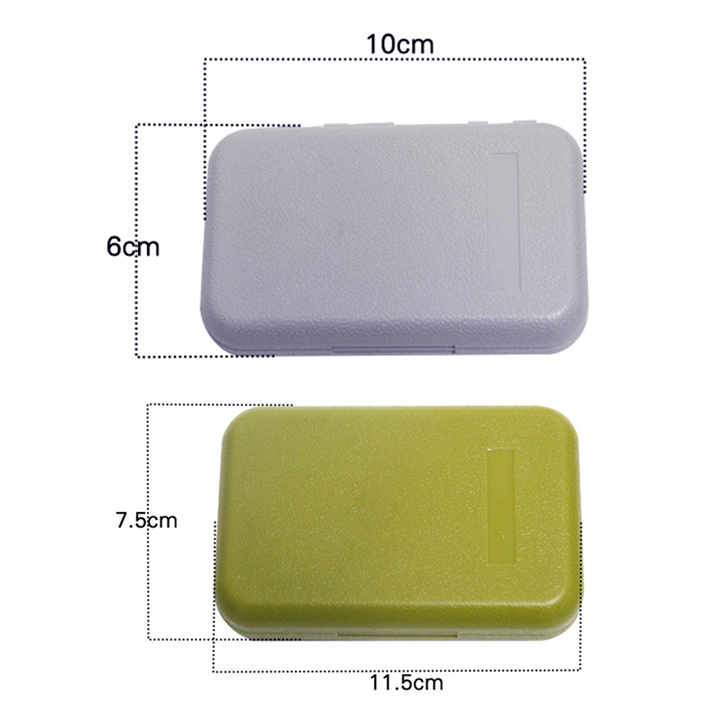 Waterproof ABS Plastic Foam Fly Fishing Lure Bait Hook Tackle Storage Case Fish Lure Bait Tackle Box 2Colors Big/ Large