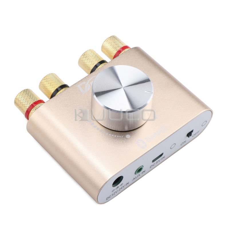 ФОТО Mushroom Mini 30W + 30W Bluetooth Amplifier Wireless receiver Audio Amplifier for Subwoofer/Bookshelf loudspeaker free shipping