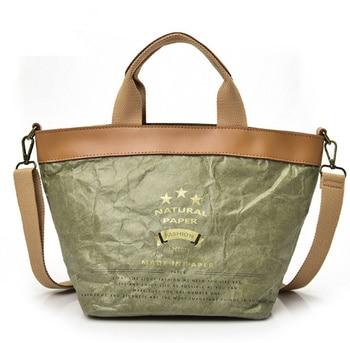 2017 spring and summer women  handbags shoulder shopping bags portable Cowhide leather  paper  bag  ladies big bag grande bolsas femininas de couro