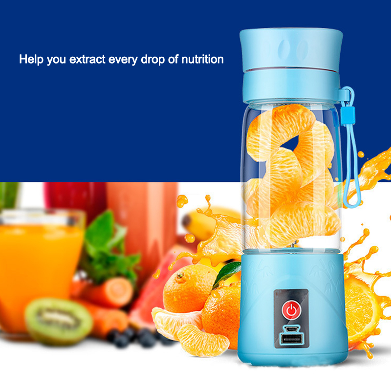 Glass Juice Cup Juice Cup Rechargeable Household Small Whirlpool Portable Mini Fruit Juicer Belt kkstar fruit electric juice cup glass charging portable mini mini cyclone