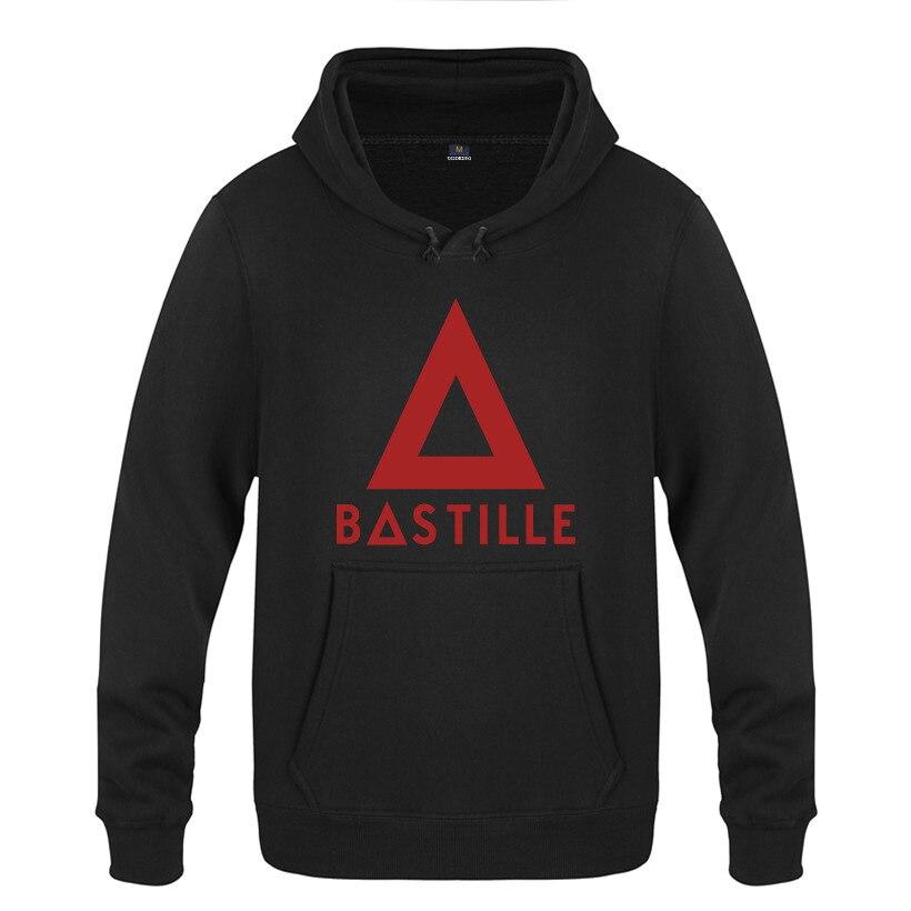 Band Bastille Hoodie Cotton Winter Teenages Logo