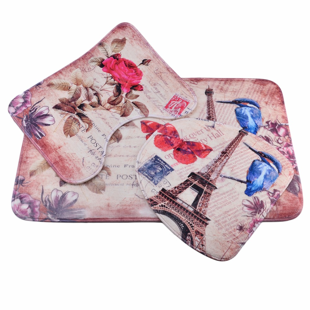 Coral Bathroom Rugs Online Get Cheap Toilet Rose Aliexpresscom Alibaba Group
