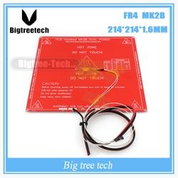 Peças de Impressora 3D MK2B Aquecido + LED + Resistor + Cabel + 100 k ohm Termistores PCB Cama Aquecida Com três cores