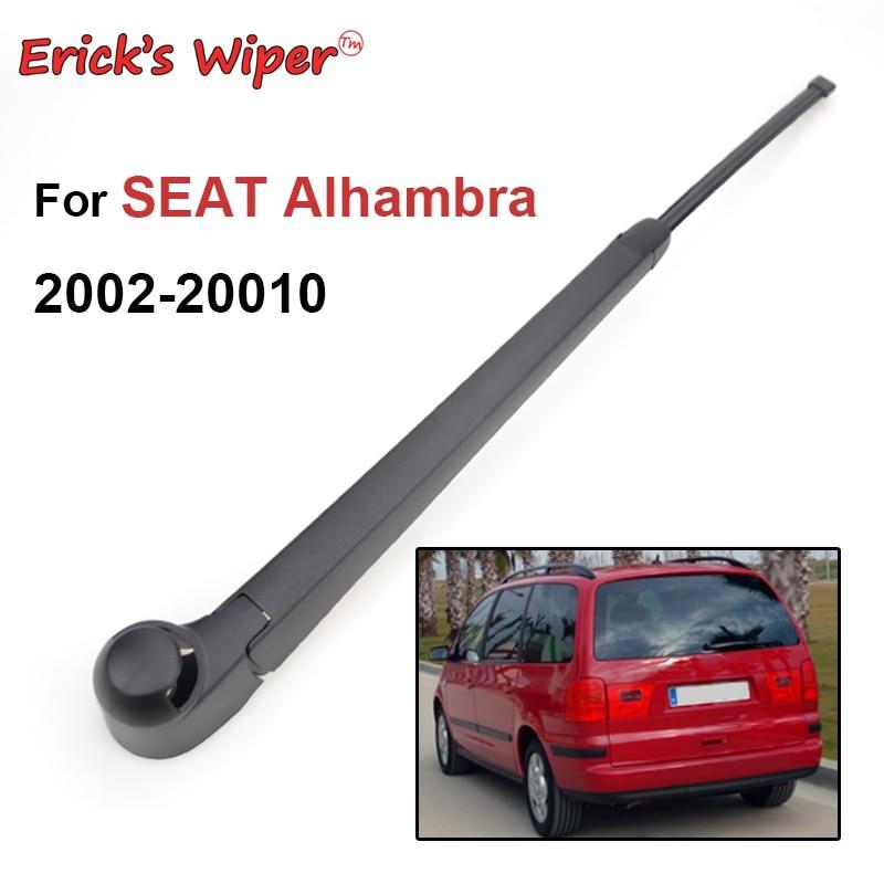 Erick-limpiaparabrisas trasero y Kit de juego de brazo para Seat, Alhambra MK1, parabrisas, ventana trasera, 2002 - 2010