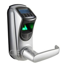 Biometric Fingerprint Door Lock Keyless with PIN Code and LCD Display – USB – Up to 500 prints DHL free shipping