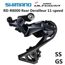 SHIMANO ULTEGRA RD R8000 задний переключатель для дорожного велосипеда, R8000 SS GS, 11 скоростей, 22 скорости
