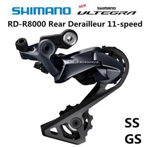 Image 1 - SHIMANO ULTEGRA RD R8000 Rear Derailleur Road Bike R8000 SS GS Road bicycle Derailleurs 11 Speed 22 Speed