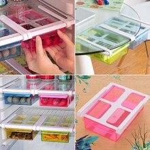 Eco-Friendly multifunción cocina Rack de almacenamiento frigorífico nevera  congelador estante alimentos cajón organizador de 362b1de64d13