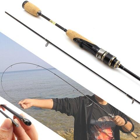 promocao 1 8 m cabo de madeira lure rod spinning ultra light vara de pesca