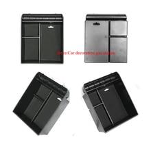 Нескользящие центральный подлокотник контейнер укладка холодильник коробки Обложка Коврик для toyota Land Cruiser Prado FJ 120 FJ120 120 2003-2009